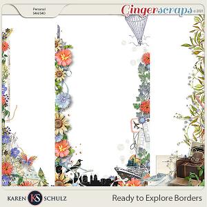Ready to Explore Borders by Karen Schulz