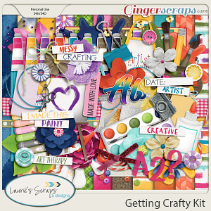 Getting Crafty Page Kit