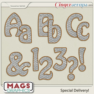 Special Delivery ALPHA by MagsGraphics