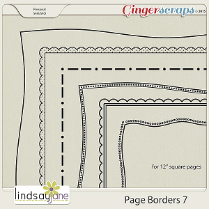 Page Borders 7 by Lindsay Jane