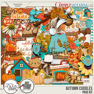 Autumn Cuddles - Page Kit - by Neia Scraps and JB Studio