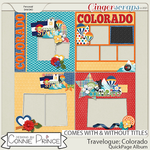 Travelogue Colorado - Quick Pages by Connie Prince