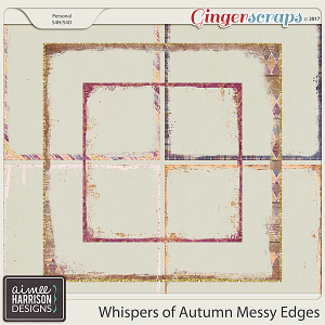Whispers of Autumn Messy Edges by Aimee Harrison