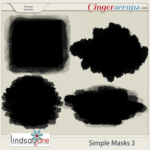 Simple Masks 3 by Lindsay Jane