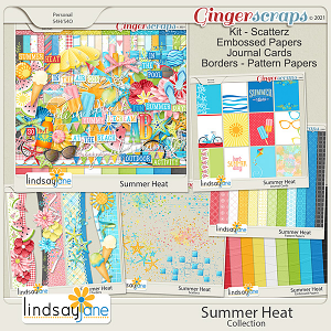 Summer Heat Collection by Lindsay Jane