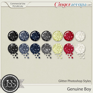 Genuine Boy Cu Glitter Photoshop Styles