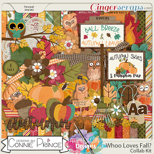 Whoo Loves Fall?  - Kit by Connie Prince & Adrienne Skelton