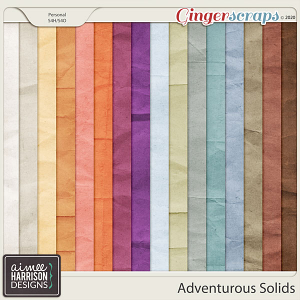 Adventurous Solid Papers by Aimee Harrison