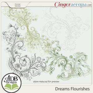 Dreams Flourishes by ADB Designs