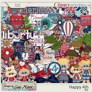 Happy 4th from Designs by Lisa Minor