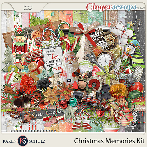 Christmas Memories Kit by Snickerdoodle Designs