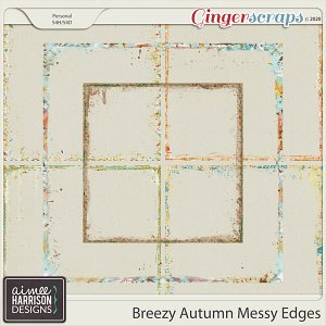 Breezy Autumn Messy Edges by Aimee Harrison