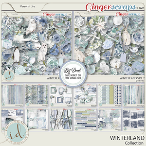 Winterland Collection by Ilonka's Designs