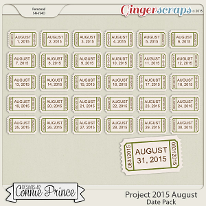 Project 2015 August - Dates
