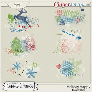 Holiday Happy - Inked Bits
