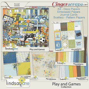 Play and Games Collection by Lindsay Jane