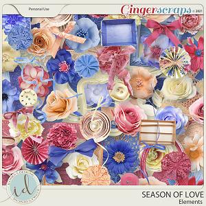 Season Of Love Elements by Ilonka's Designs
