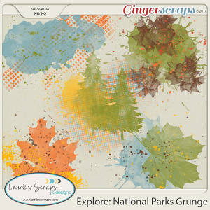 Explore: National Parks Grunge