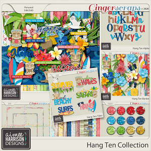 Hang Ten Collection by Aimee Harrison