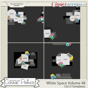 White Space Volume 48 - 12x12 Temps (CU Ok) by Connie Prince