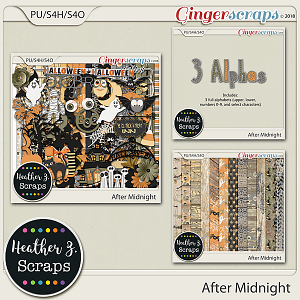 After Midnight BUNDLE by Heather Z Scraps