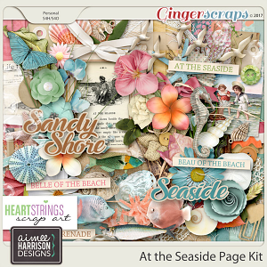 At the Seaside Page Kit