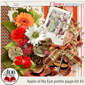 Apple of My Eye Petite Page Kit #2 by ADB Designs