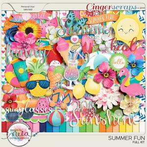 Summer Fun - Full Kit - by Neia Scraps