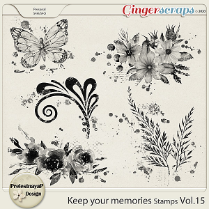 Keep your memories Stamps Vol.15