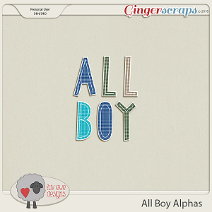 All Boy Alphas by Luv Ewe Designs