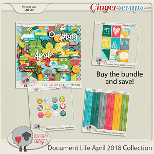Document Life April 2018 Collection by Luv Ewe Designs