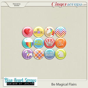 Be Magical Flair Pack