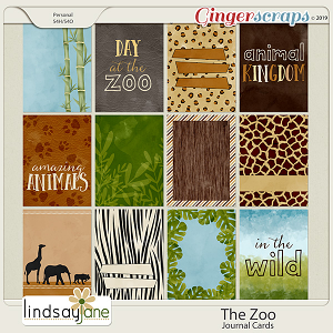 The Zoo Journal Cards by Lindsay Jane