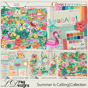 Summer Is Calling: The Collection by LDragDesigns