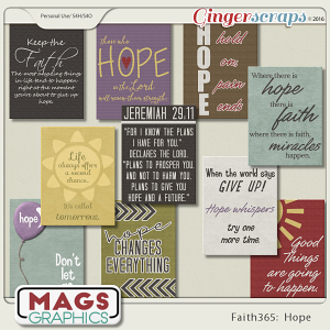 Faith365 Hope JOURNAL CARDS