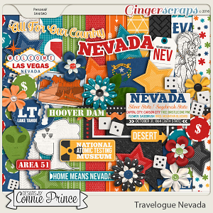Travelogue Nevada - Kit