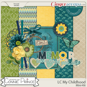 Life Chronicled: My Childhood - MiniKit by Connie Prince