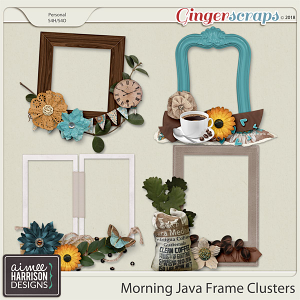 Morning Java Frame Clusters by Aimee Harrison