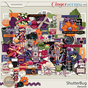 Shutterbug Elements by JoCee Designs