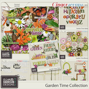 Garden Time Collection by Aimee Harrison
