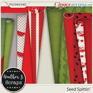 Seed Spittin' PAGE CURLS by Heather Z Scraps