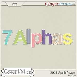 2021 April: Peace Bonus Alphas by North Meets South Studios