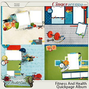 Fitness And Health Quickpage Album