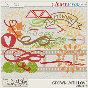 Grown with Love Graffiti by Tami Miller Designs