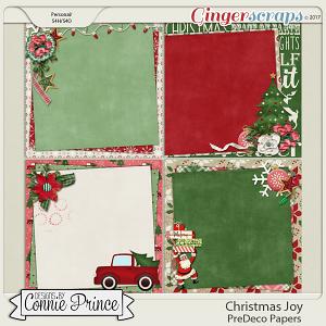 Christmas Joy - PreDeco Papers