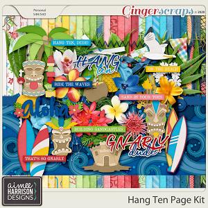 Hang Ten Page Kit by Aimee Harrison