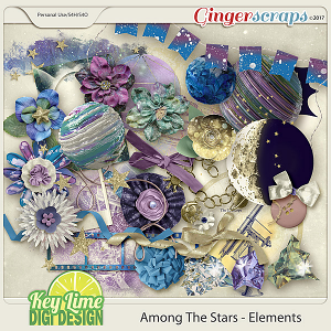 Among The Stars Elements by Key Lime Digi Design