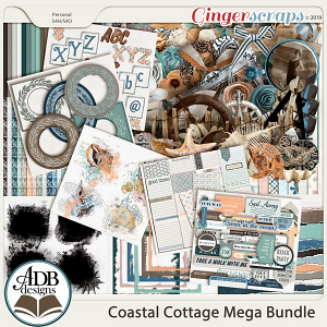 Coastal Cottage Bundle by ADB Designs