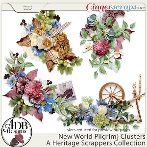 New World Pilgrim Clusters by ADB Designs