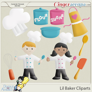 Doodles By Americo: Lil Baker Cliparts
